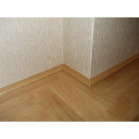 Podlahová plochá lišta DUB 8x30 x2000/A/NEL