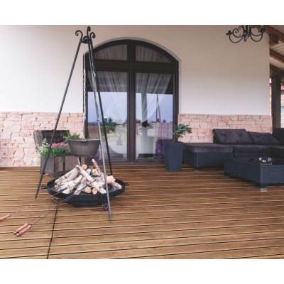 Drevená terasová doska impregnovaná borovica